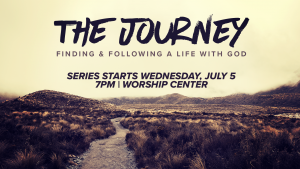 The Journey - Wednesday Night Teaching Series @ Encourager Church
