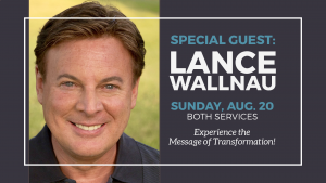 Special Guest - Dr. Lance Wallnau @ Encourager Church - Worship Center | Houston | Texas | United States