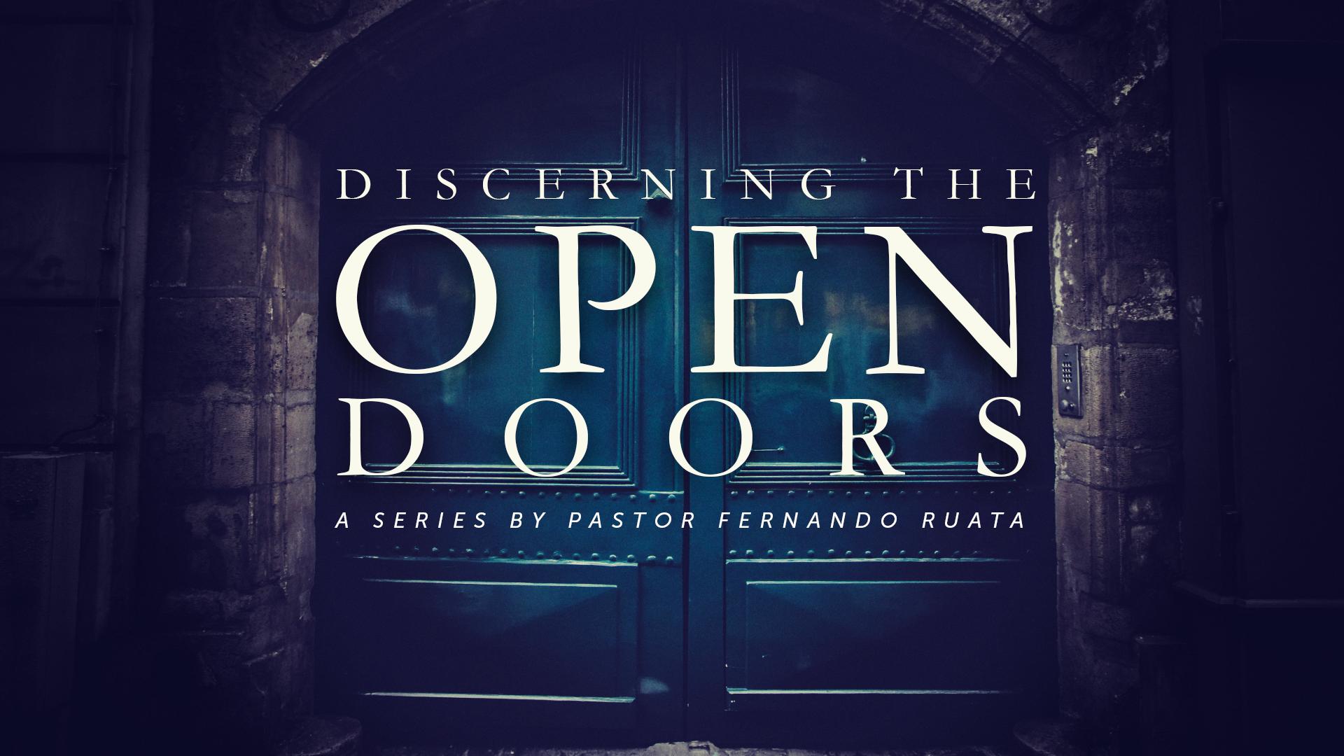 Open Doors Before You - Encourager Church
