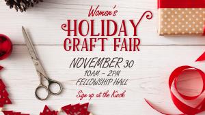 Women's Holiday Craft Fair @ Encourager Church - Fellowship Hall | Houston | Texas | United States