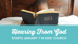 Kids' Church - Hearing From God @ Encourager Church - Kids Church