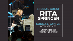 Special Guest - Rita  Springer @ Encourager Church | Katy | Texas | United States