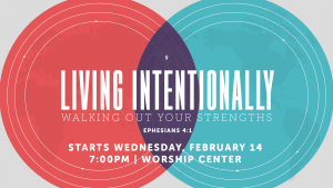Living Intentionally @ Encourager Church - Worship Center | Houston | Texas | United States