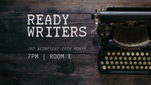 Ready Writers @ Encourager Church - Room E | Houston | Texas | United States