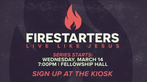 Firestarters @ Encourager Church - Fellowship Hall | Houston | Texas | United States