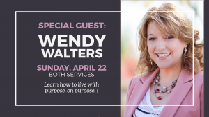 Special Guest: Wendy Walters @ Encourager Church | Houston | Texas | United States