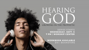 Hearing God - Teaching Series @ Encourager Church - Worship Center