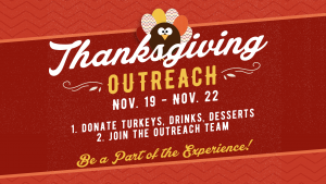 Thanksgiving Outreach @ Encourager Church | Houston | Texas | United States