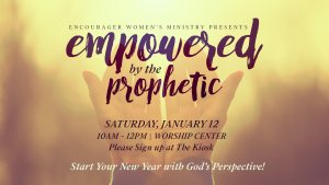 Empowered by the Prophetic @ Encourager Church - Worship Center   Houston   Texas   United States