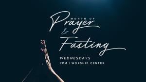Wednesday Night Prayer & Fasting @ Encourager Church - Worship Center | Houston | Texas | United States