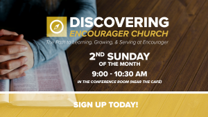 New Member Class // Discovering Encourager Church @ Encourager Church - Conference Room | Houston | Texas | United States