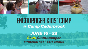 Encourager Kids' Camp - Camp Cedarbrook Texas @ Camp Cedarbrook (Located at Forest Glen Retreat Center) | Rosebud | Texas | United States