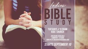 Ladies Bible Study @ ENCOURAGER CHURCH- KIDS' CHURCH | Houston | Texas | United States