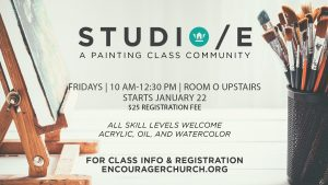Studio E Art Classes @ Encourager Church | Houston | Texas | United States